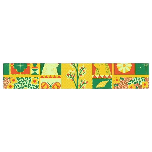 Tobe Fonseca Spring Seasonal Table Runner by East Urban Home