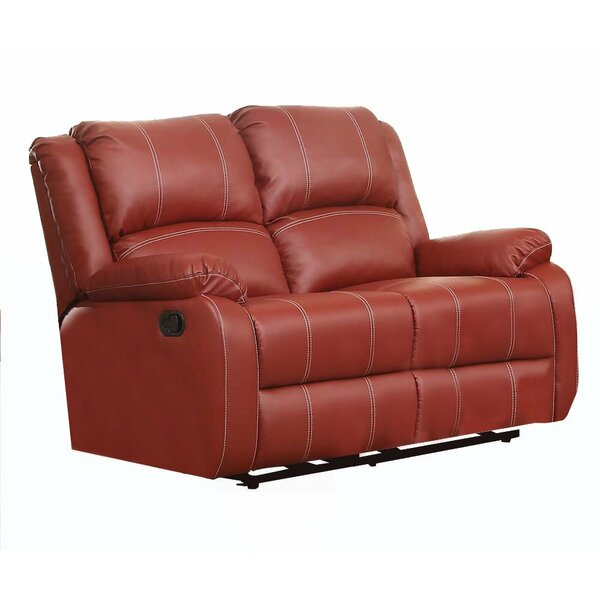 Shop Online Heavner Reclining Loveseat by Red Barrel Studio by Red Barrel Studio