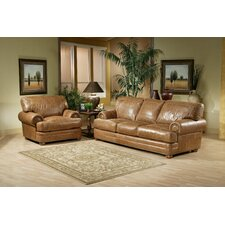 Houston Leather Living Room Set by Omnia Leather