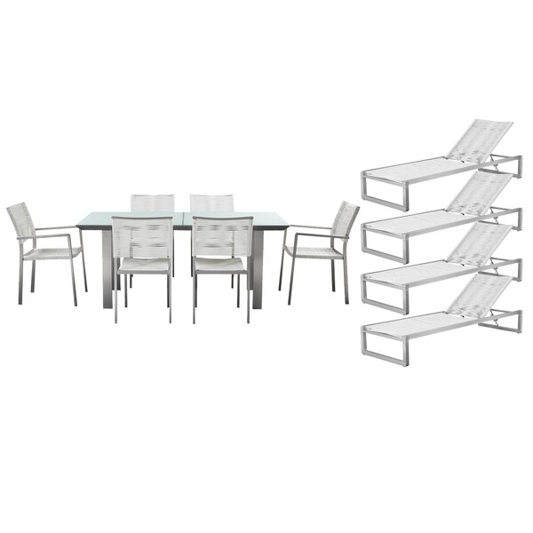 Bella 11 Piece Complete Patio Set with Cushions by Orren Ellis