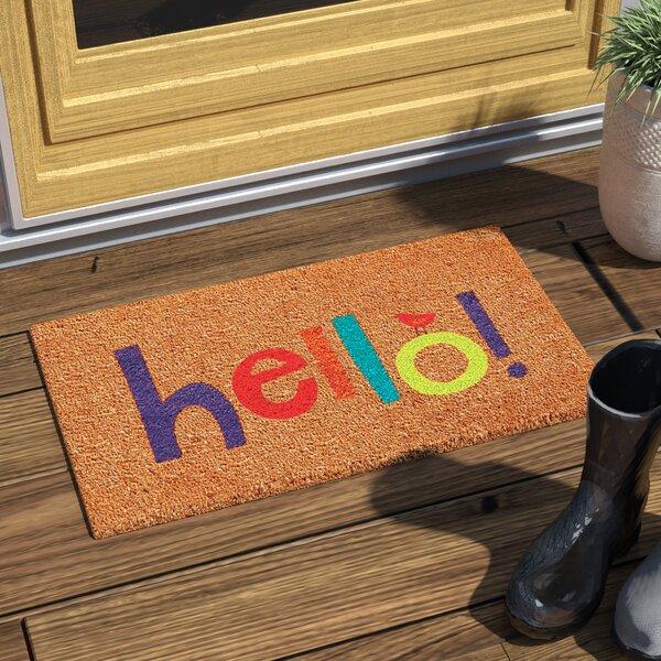Shannon Hello Doormat by Zipcode Design
