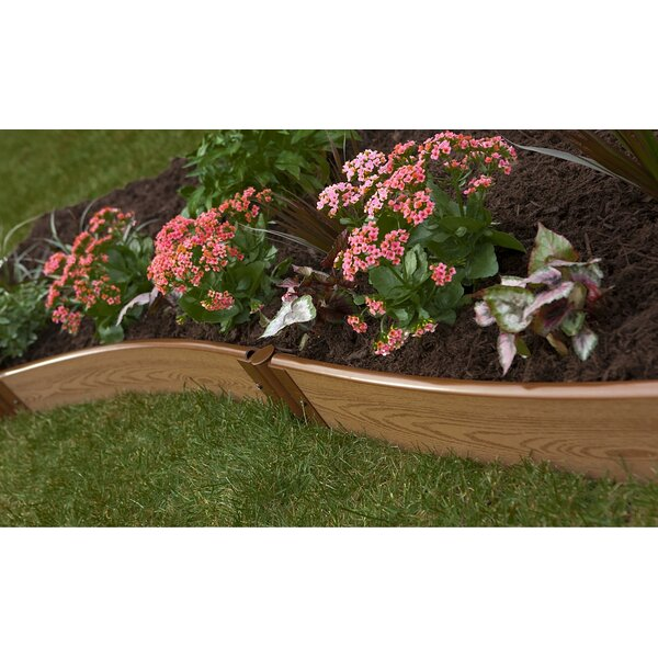 Classic Sienna Curved 16 ft x 0.1 ft Manufactured Wood Raised Garden by Frame It All