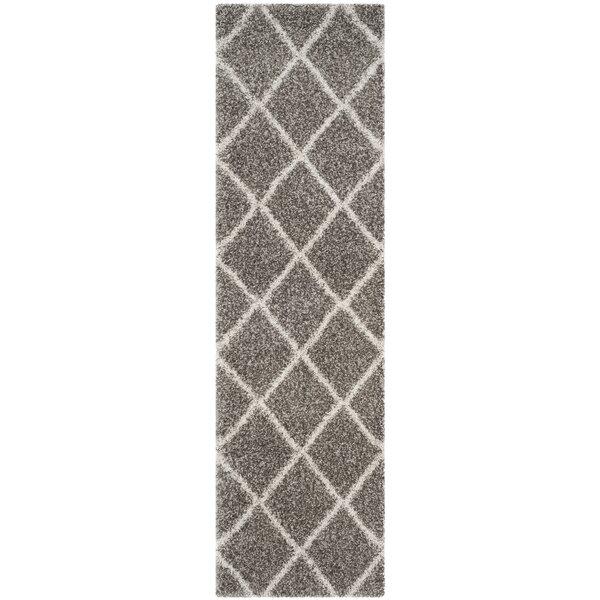 Duhon Gray/Ivory Area Rug by Mercury Row