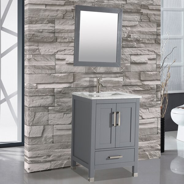 Denault 24 Single Sink Bathroom Vanity by Brayden Studio