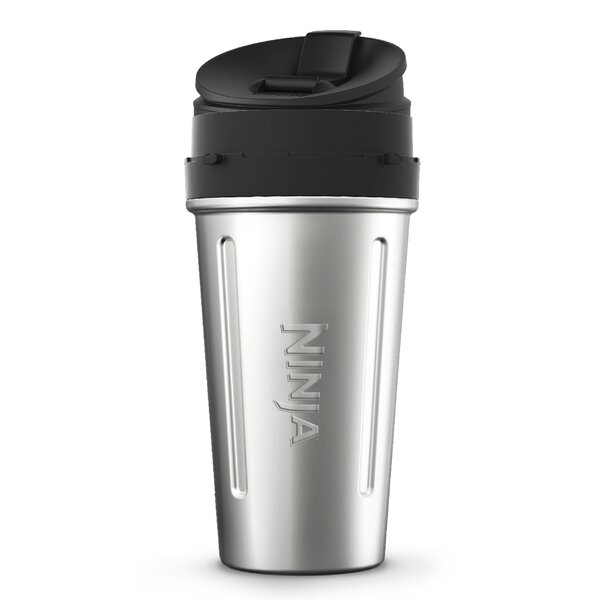 24 oz. Stainless Steel Nutri Cup with Sip and Seal Lid by Ninja
