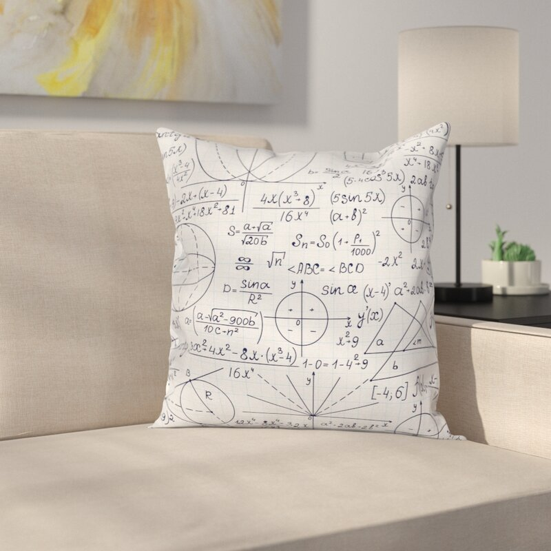 Student Geometry Cushion Pillow Cover
