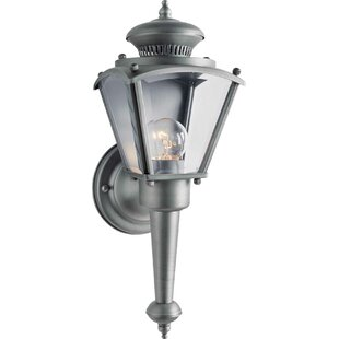 Find the perfect Dolores 1-Light Outdoor Sconce By Charlton Home