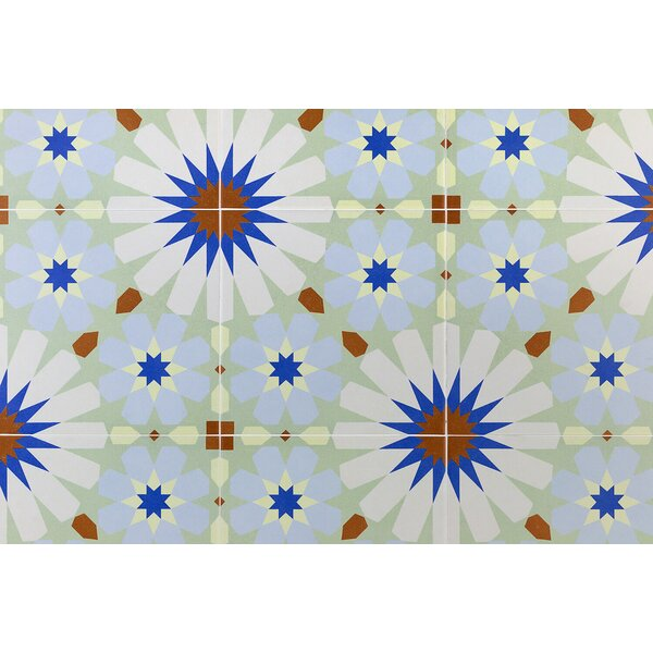 Anabella 9 x 9 Porcelain Field Tile in Uffizi by Splashback Tile