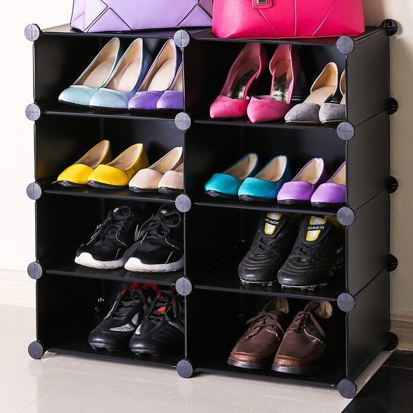 16 Pair Shoe Rack