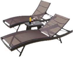 outdoor lounge chairs - Patio Chair