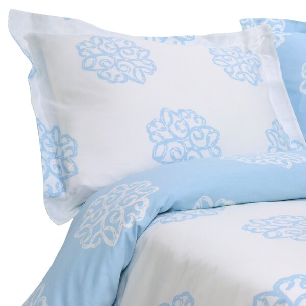 Milena Reversible Duvet Set by Elite Home Products
