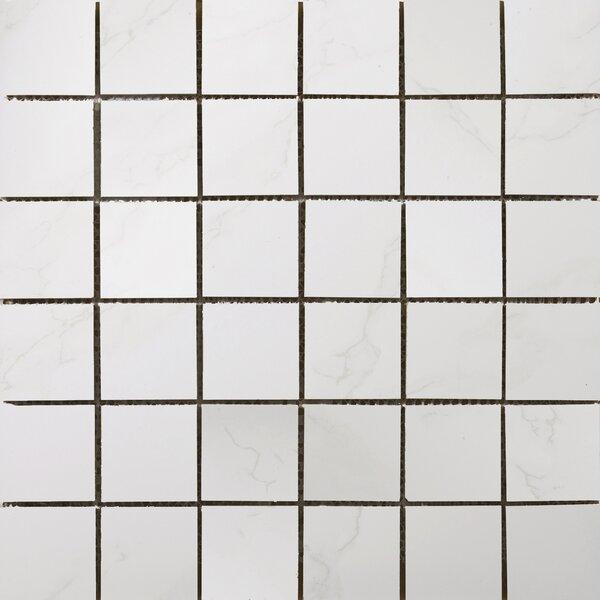 Paladino 2 x 2/12 x 12 Porcelain Mosaic Tile in Albanella Matte by Emser Tile