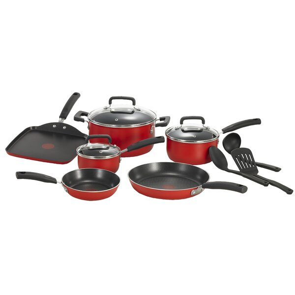 Signature 12 Piece Non-Stick Cookware Set by T-fal