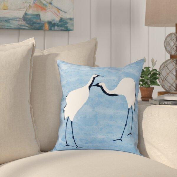 Boubacar Stilts Animal Print Throw Pillow by Highland Dunes