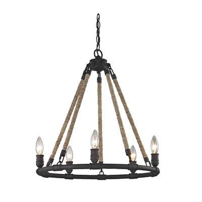melanie 5light chandelier