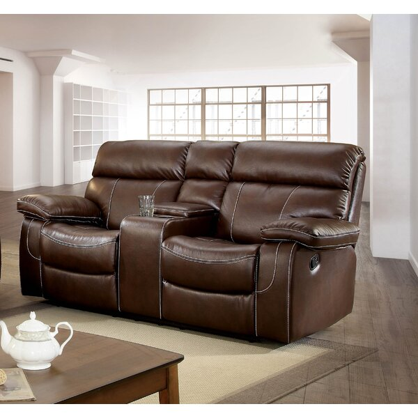 Kian Reclining Loveseat by Winston Porter