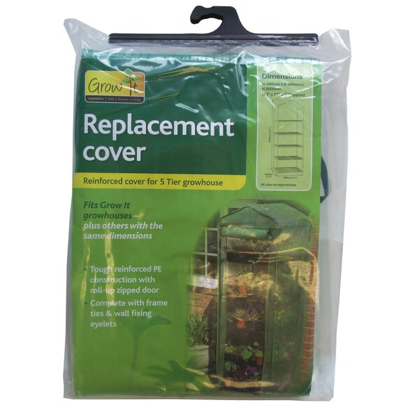 Growhouse Replacement Cover by World Source Partners