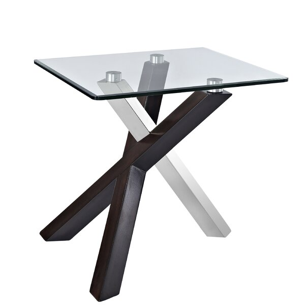 Verge End Table by Magnussen Furniture