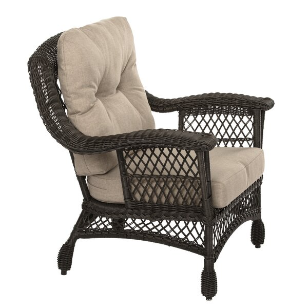 Sherlene Patio Chair with Cushions by Highland Dunes Highland Dunes