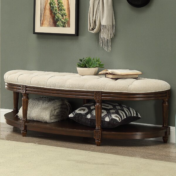 Bowers Wood Bench by Darby Home Co