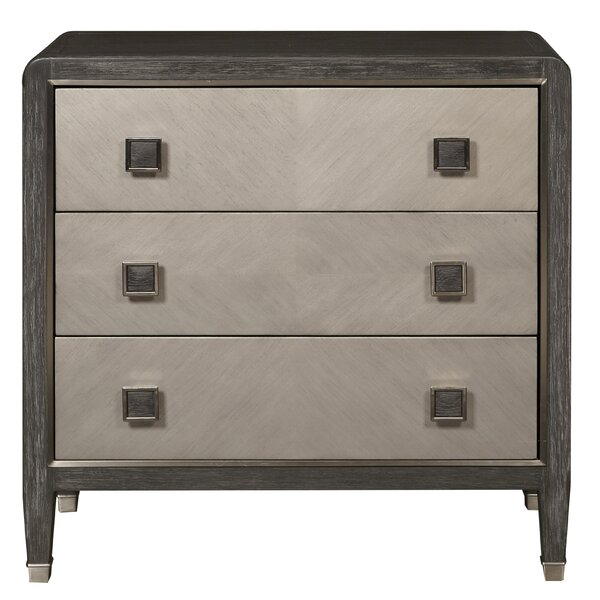 Whisenhunt 3 Drawers Accent Chest by Mercer41 Mercer41