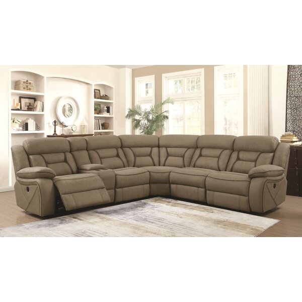 Bourbonnais Symmetrical Reclining Sectional by Winston Porter
