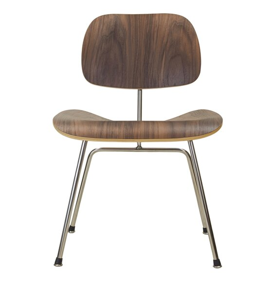 Walnut Side Chair by Design Tree Home