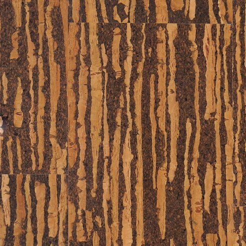 Dennison 11.75 Cork Flooring in Medium Brown by Albero Valley