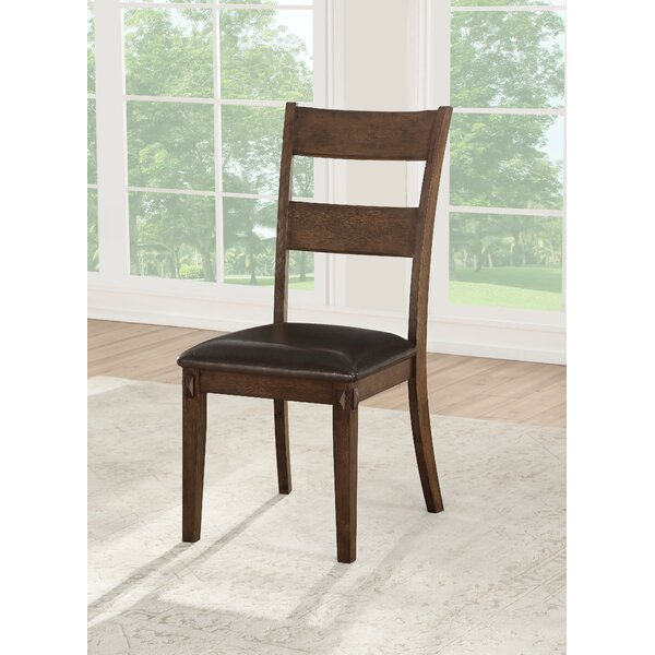 Lint Upholstered Dining Chair (Set of 2) by Gracie Oaks Gracie Oaks