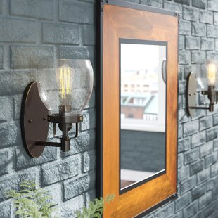 Great Price Panorama Point 1-Light Wall Bath Sconce By Trent Austin Design