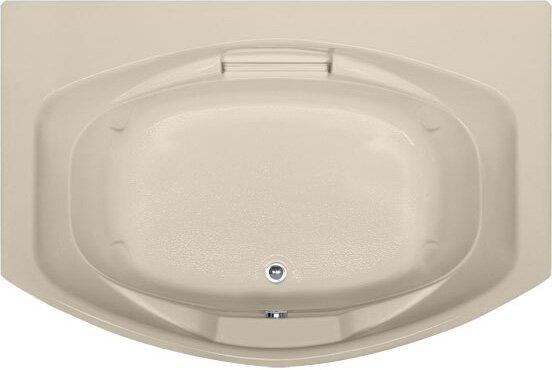 Designer Jessica 72 x 48 Soaking Bathtub by Hydro Systems