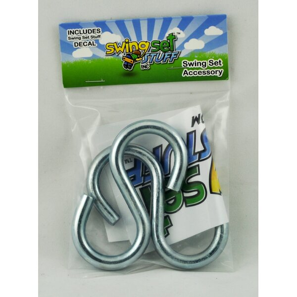 Large End S-Hooks (Set of 2) (Set of 2) by Swing Set Stuff