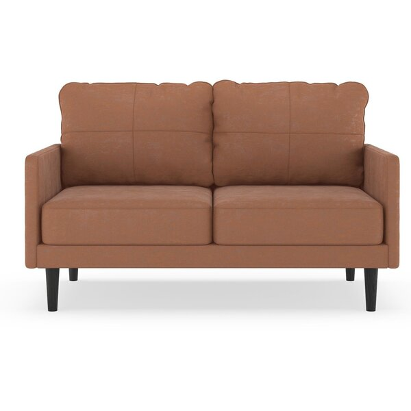 Courtright Microsuede Loveseat By Foundry Select