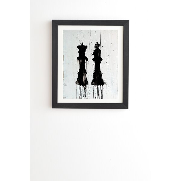 Check Mates Framed Painting Print by East Urban Home