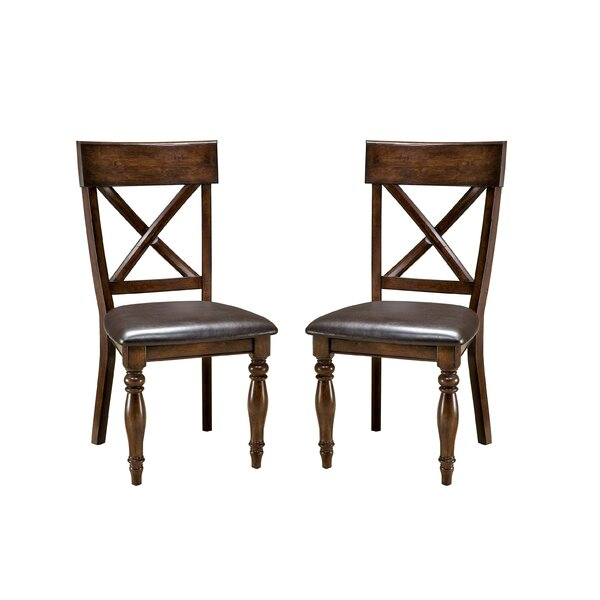 Whisler X-Back Side Chair (Set of 2) by Millwood Pines