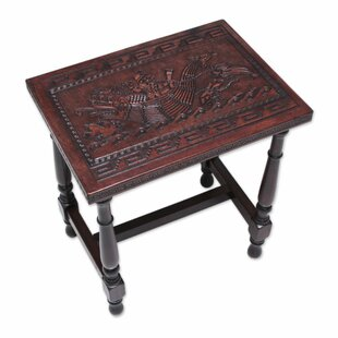 Mclaurin Moche Fisherman End Table by Bloomsbury Market