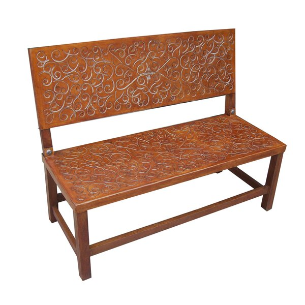 Sevilla Wood Bench by New World Trading