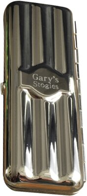 Personalized Gift Travel Cigar Holder by JDS Personalized Gifts