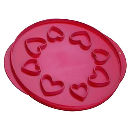 Lattice and Hearts Pie Top Cutter by Nordic Ware
