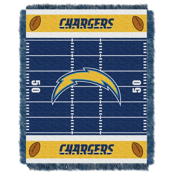 NFL Chargers Field Baby Blanket by Northwest Co.