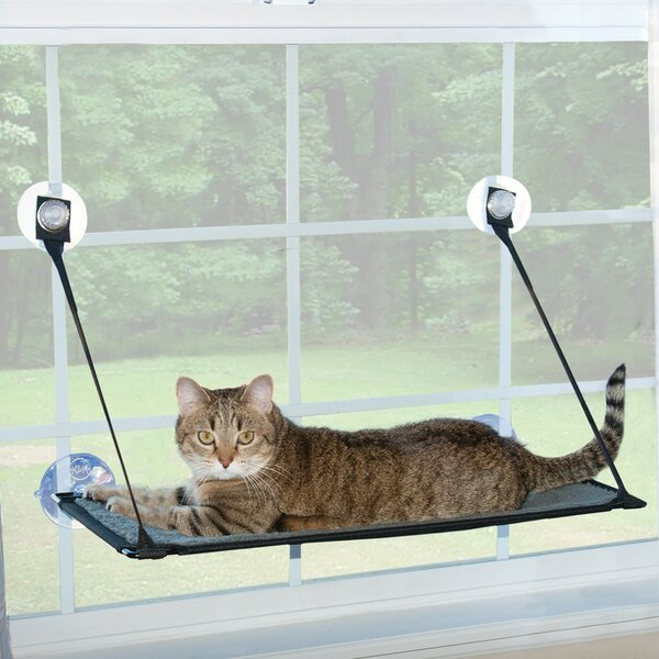 Kitty Sill Ez Window Mount Cat Perch by K&H Manufacturing