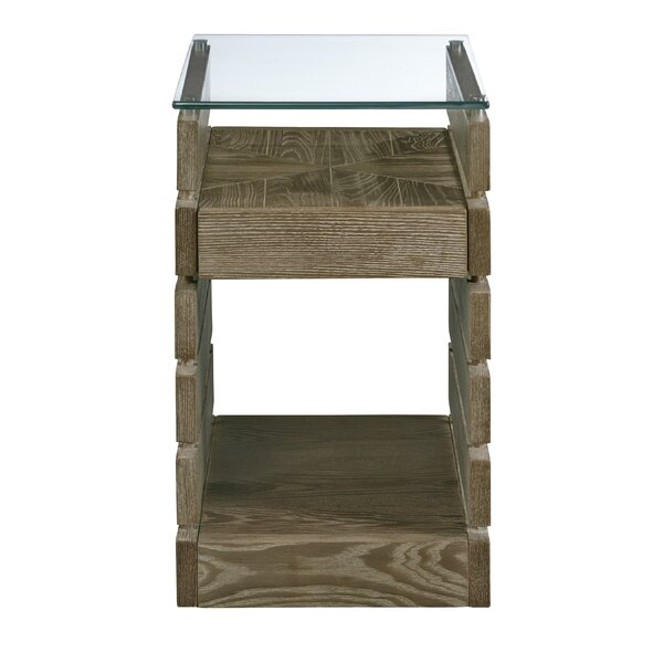 Naccarato End Table with Storage by Williston Forge