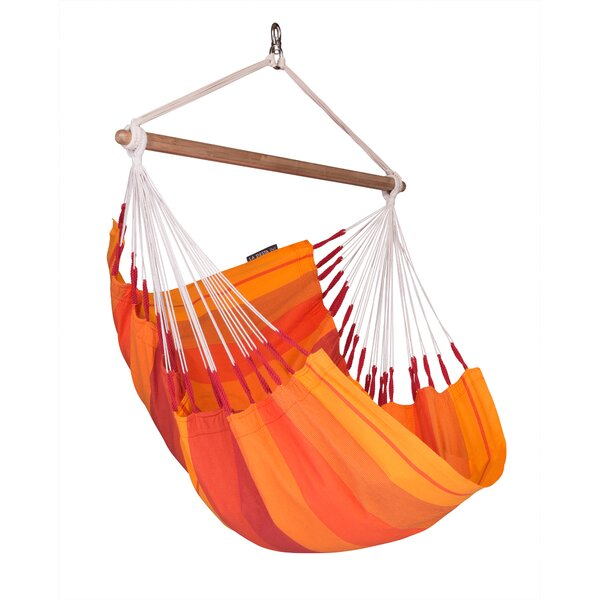 ORQUÍDEA Volcano Basic Cotton Chair Hammock By LA SIESTA