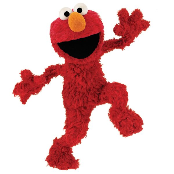 Sesame Street Licensed Designs Elmo Giant Wall Decal by Room Mates