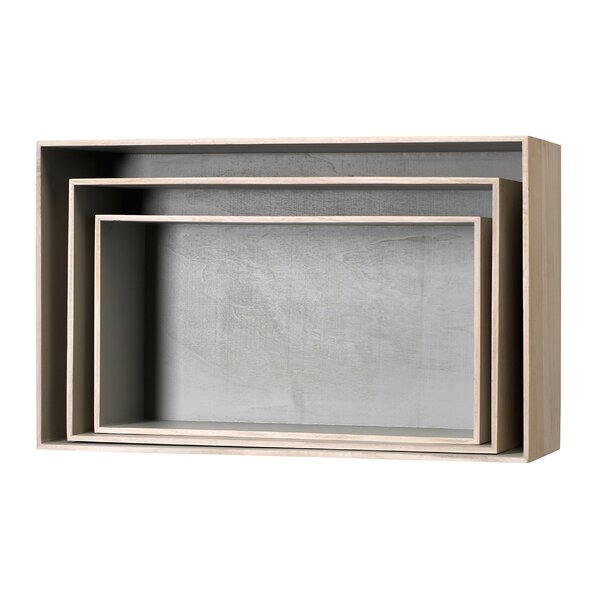 Hardage 3 Piece Wood Display Box Set by Williston Forge