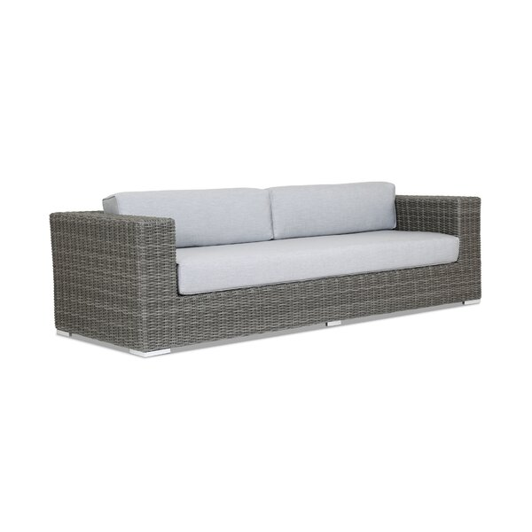 Emerald II Patio Sofa with Cushion by Sunset West
