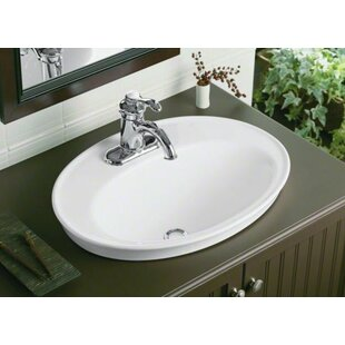 Save 2 Kohler Serif Ceramic Oval Drop In Bathroom Sink