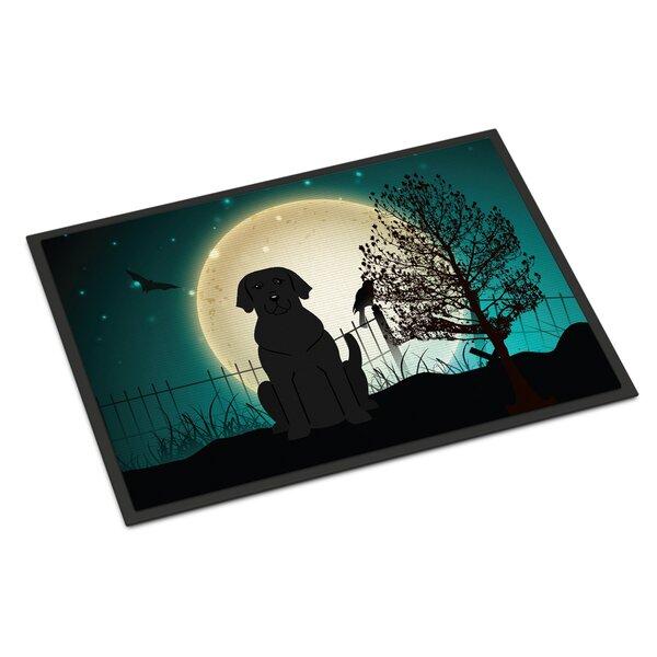 Halloween Scary Labrador Doormat by Caroline's Treasures