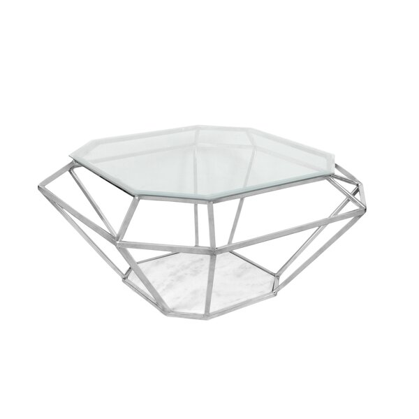 Diamond Coffee Table by Fashion N You by Horizon Interseas