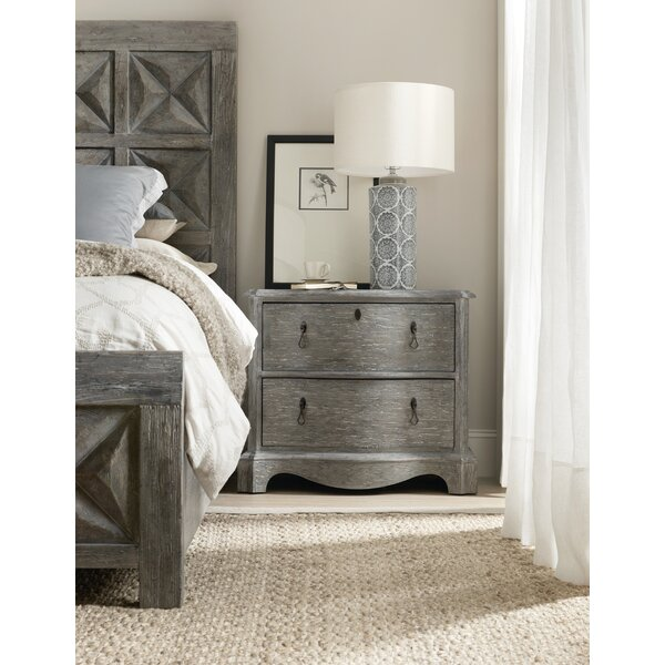 Beaumont 2 Drawer Nightstand by Hooker Furniture Hooker Furniture